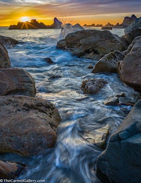 Oregon Coast Sunset Art | The Carmel Gallery