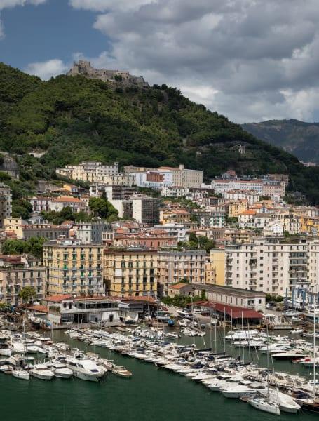 Salerno Town, Port & Castle Photography Art | Leiken Photography