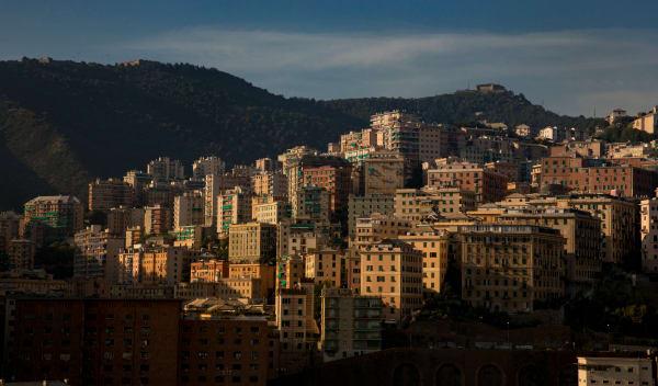 Genoa Italy, Sunset Photography Art | Leiken Photography