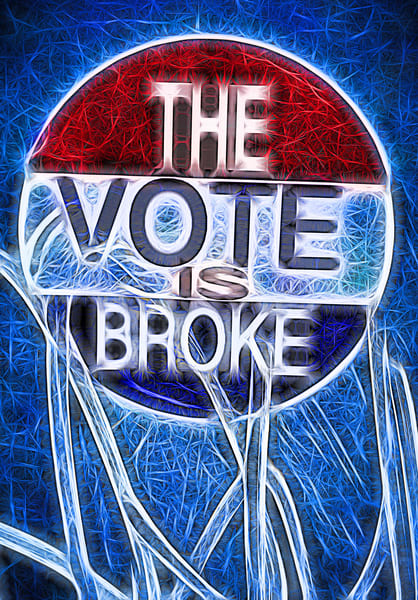 The Vote Is Broke|Fine Art Photography by Todd Breitling