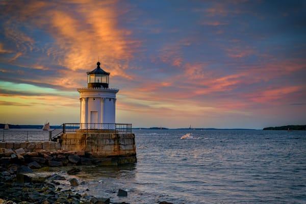Sunset at Bug Light | Shop Photography by Rick Berk