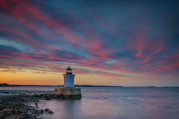 Cotton Candy Skies at Bug Light | Shop Photography by Rick Berk