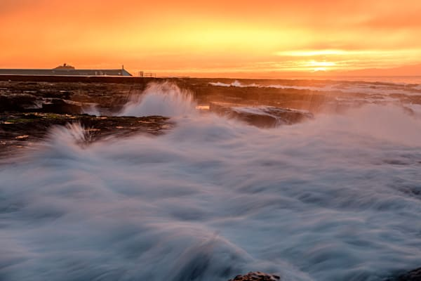 Sunrise is my favourite colour - Newcastle Ocean Baths NSW Australia Beach Sunrise
