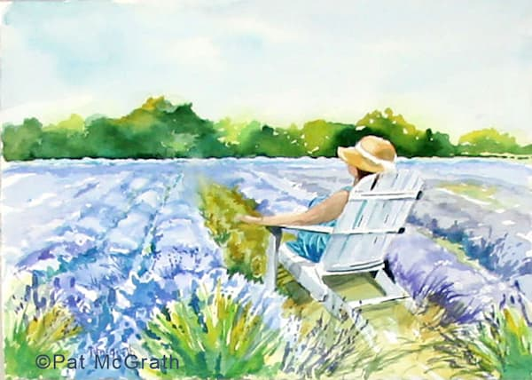 Basking In Lavender Art | East End Arts