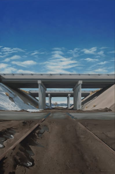 Railroad Tracks & Bridges | Colorado | Original Painting & Art Prints