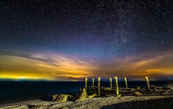 Iron Pier Starry Sky