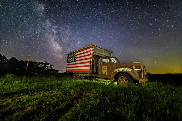Americana Truck Milky Way