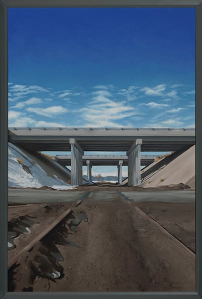 Crossroads | Original Oil Painting | Colorado