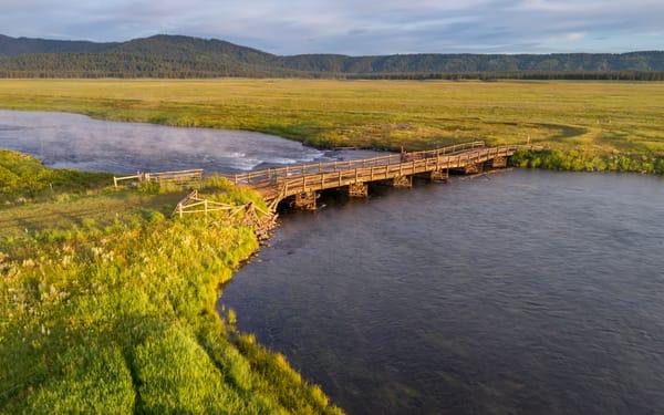 Bridge Across Henry's Fork