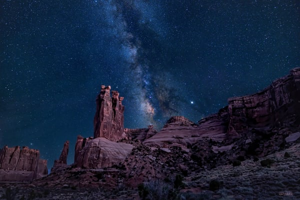 Gossip Stars-Arches national Park