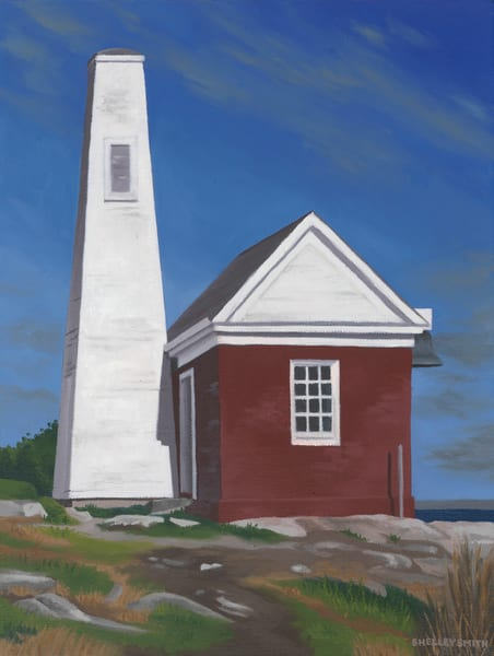 Pemaquid Bell | Lighthouse | Maine | Art Print