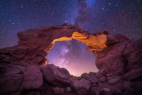 'Arches & Cliffs' Photograph by Jess Santos for sale as Fine Art