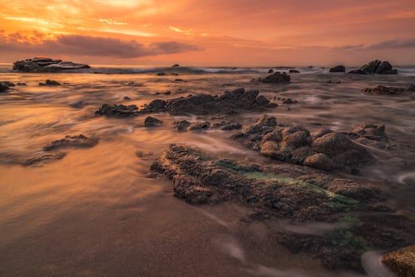 'Stones & Sunrise' Photograph by Jess Santos for sale as Fine Art