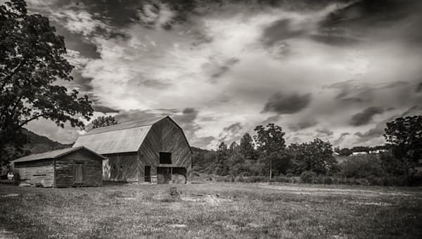 Old Barn Near Franklin, Nc Art | Drew Campbell Photography