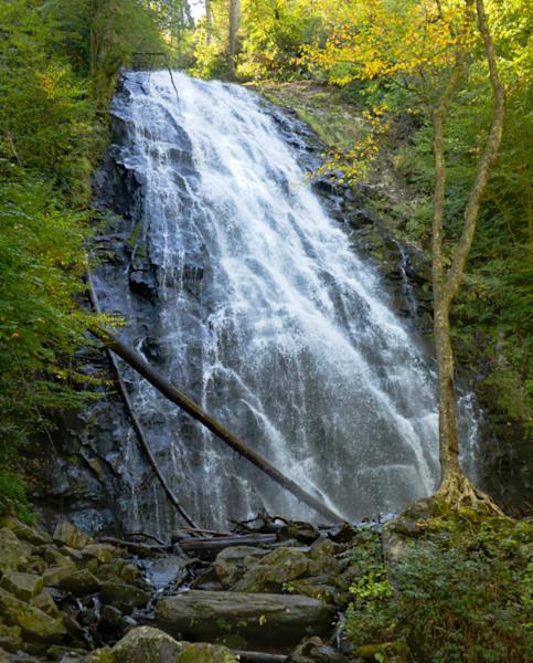 Crabtree Falls Near Asheville, Nc Art | Drew Campbell Photography