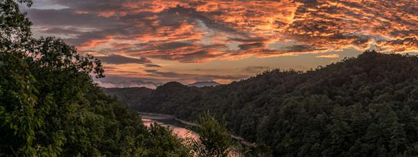 Lake Fontana Sunrise Art | Drew Campbell Photography