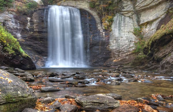 Looking Glass Falls   North Carolina Art | Drew Campbell Photography