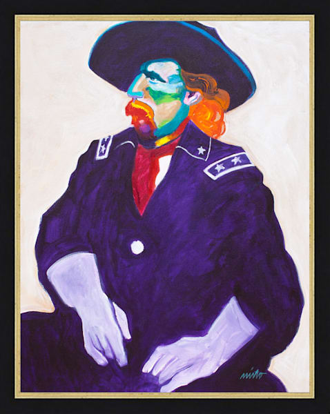 General George Custer | John Nieto Original Painting