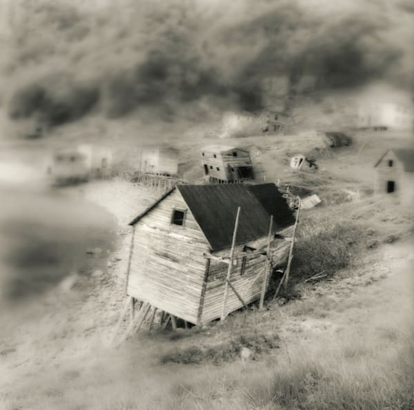 Abandoned outpost Newfoundland
