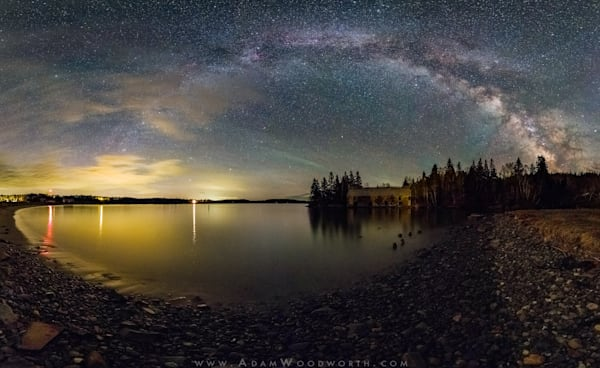 Milky Way Smokehouse panorama