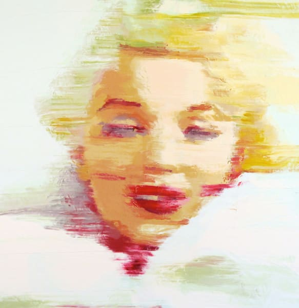 Blonde # 3 | Cool Art House - online art gallery with hip emerging artists. Collect cool art you can view on your own wall before you invest!