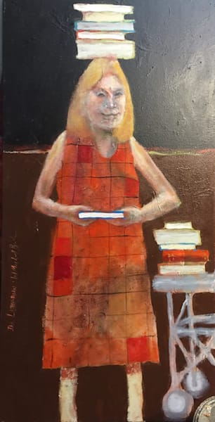 """""""The Librarian"""" Art 
