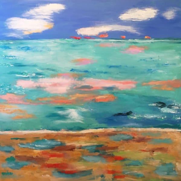 Sandy Beach Art | Mary Kinzelberg Art