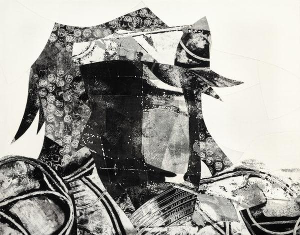 Daniel Voelker | Voelker Art | Abstract collage King Circumstance
