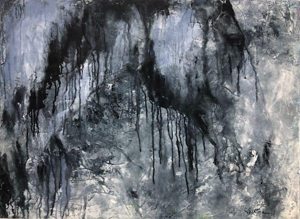 "Carol Santora acrylic ""Mirage"""