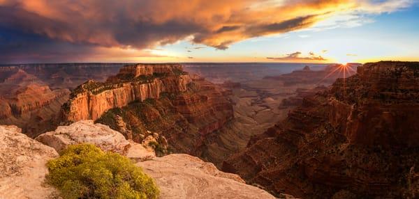 cape royal sunset panorama