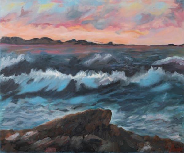 Stormy Ocean Big Sur