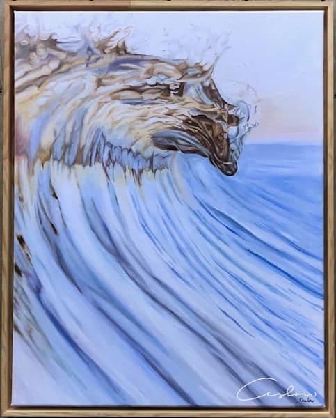 Original Golden Wave Painting