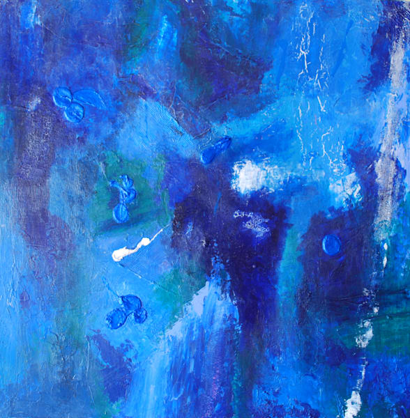 Blue Funk Art | Jerry Hardesty Studio
