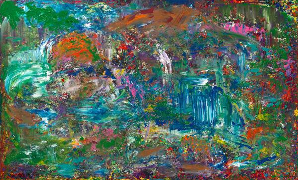 The Jungle   Abstract Art   JD Shultz Art