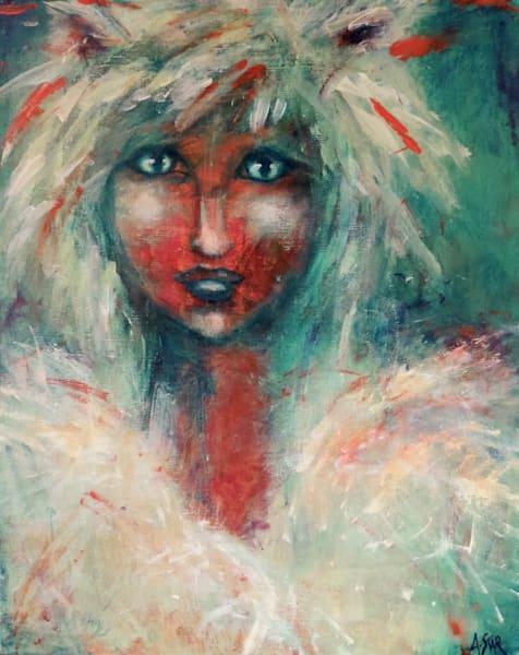 Wolf Girl (Available) Art | Sacred Star Arts