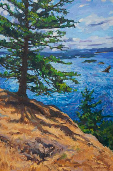 Fir On The Windward Side Art | Fountainhead Gallery
