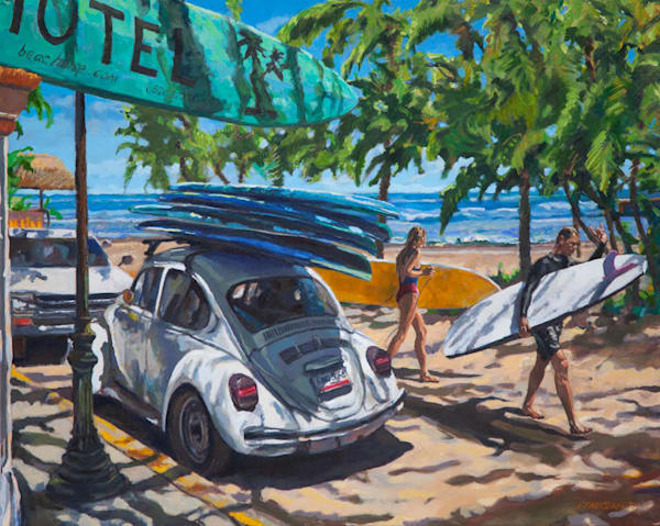 Sayulita Surf Bug and Surfers