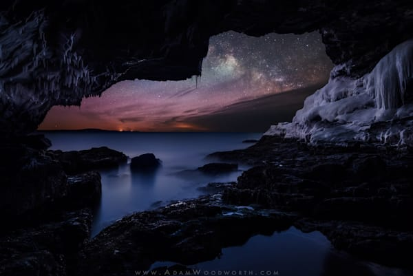 Galactic Cave by Adam Woodworth