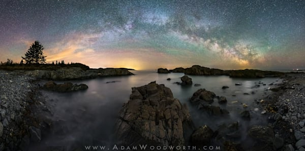 Moose Cove Milky Way Panorama