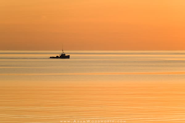 Lobster Boat Sunrise