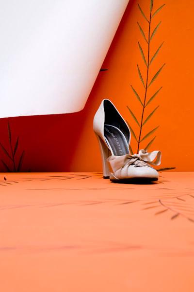 Shoe On Orange Art | karlherber