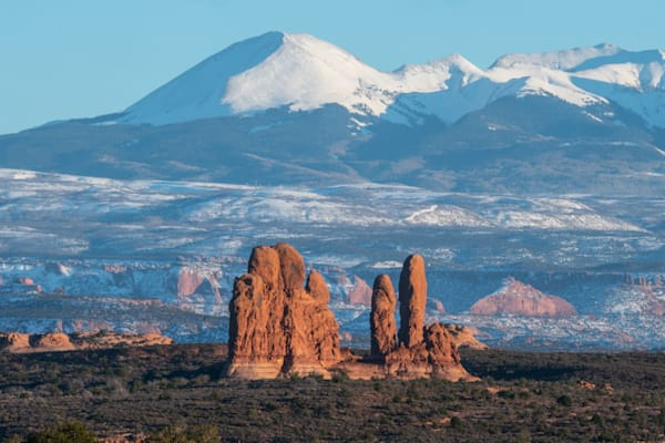 Snow Capped Mountain Art | Drew Campbell Photography