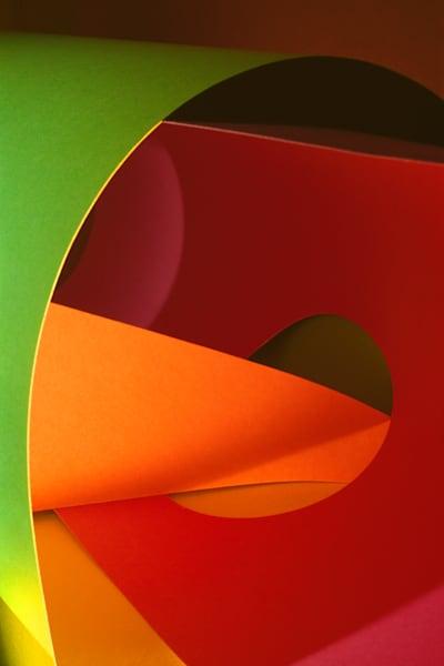 Paper Construction #1 Photography Art | Burton Pritzker Photography