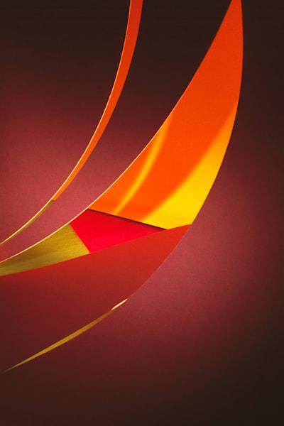 Paper Construction #3 Photography Art | Burton Pritzker Photography