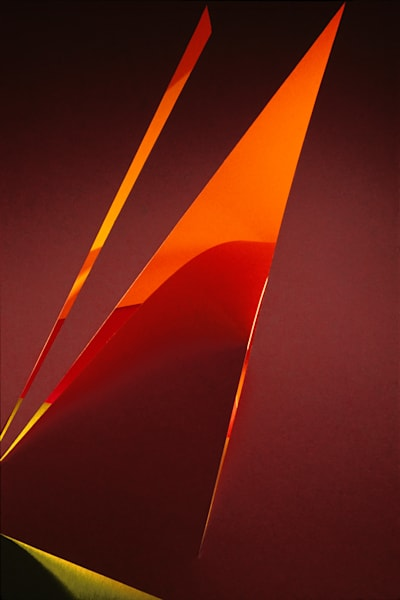 Paper Construction #4 Photography Art | Burton Pritzker Photography