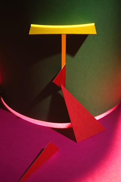 Paper Construction #5 Photography Art | Burton Pritzker Photography