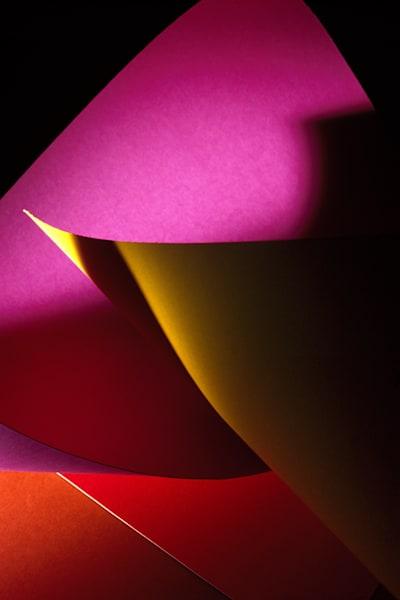 Paper Construction #14 Photography Art | Burton Pritzker Photography