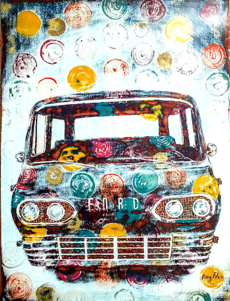 """Ford Van"" Art 