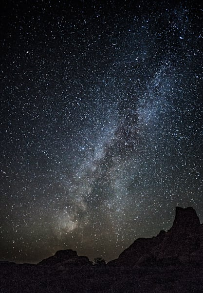 Milky Way Over Arches National Park Art | Drew Campbell Photography
