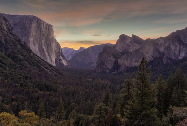 Yosemite National Park, Tunnel View Art | Drew Campbell Photography